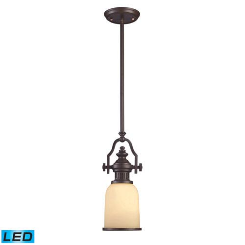 Elk Lighting Chadwick Oiled Bronze 16.5-Inch LED One Light Mini Pendant