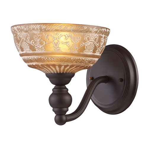 Elk Lighting Norwich Oiled Bronze One Light Wall Sconce