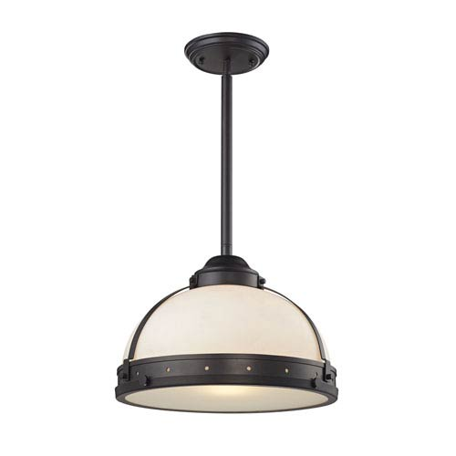 Elk Lighting Rutherford: Elk Lighting Rutherford Oil Rubbed Bronze 15 Inch One