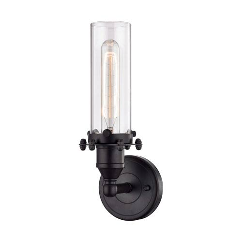 Fulton Oil Rubbed Bronze 4-Inch One-Light Wall Sconce