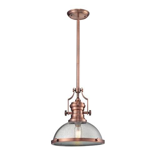 Chadwick Copper 13-Inch One-Light Pendant