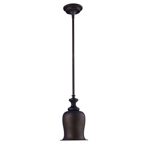 Elk Lighting Chadwick Oiled Bronze One Light Mini Pendant