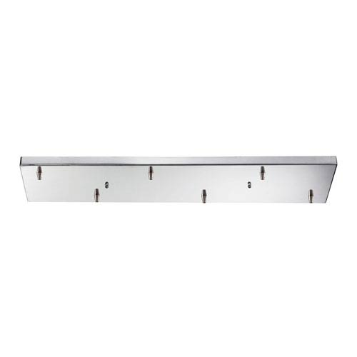 Polished Chrome Rectangular Pan Canopy Only