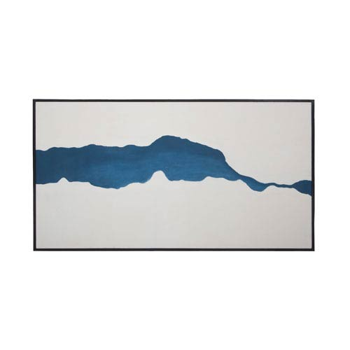 Fissure Hand Painted Art Wall Art