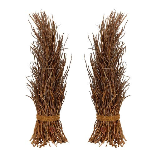 Natural Cocoa Twig Sheaf - Set of Two