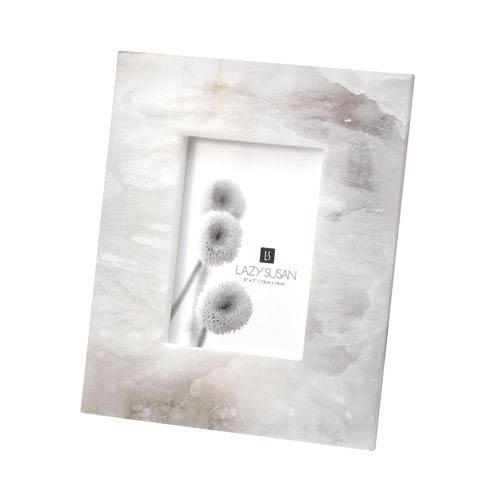 Alabaster Slab Gray 5 x7-Inch Frame