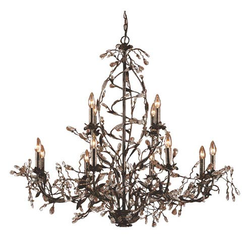 Elk Lighting Circeo Twelve Light Chandelier