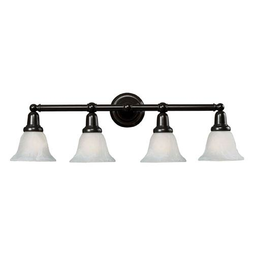 Elk Lighting Vintage Bath Oil Rubbed Bronze Four Light Bath Fixture