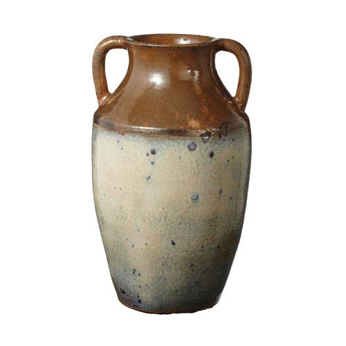 Olive Jar Brown Vase
