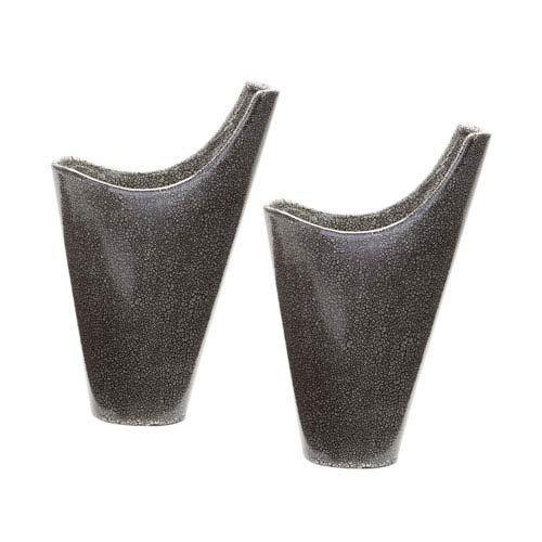 Reaction Grey Vases - Set of Two