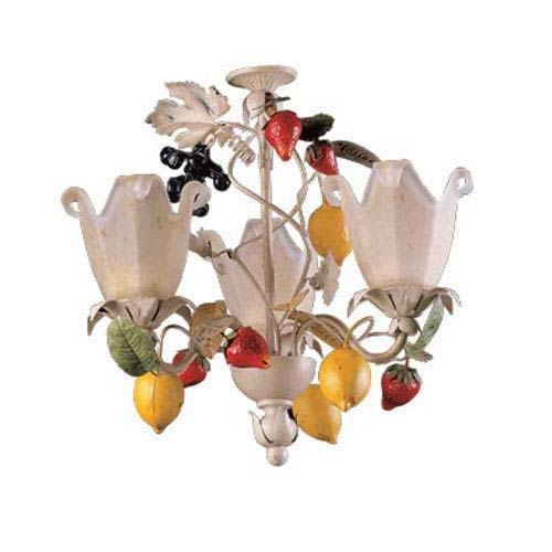 Tootie Fruity Three Light Chandelier