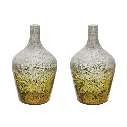 Ombre Lemon Bottles - Set of Two