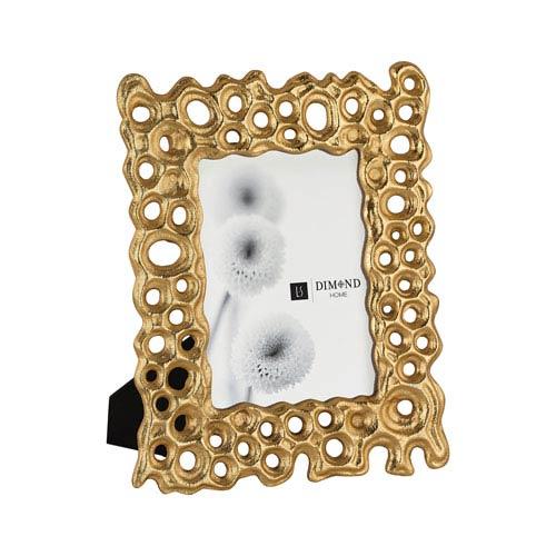 Gold Rush Gold 4 x 6 -Inch Frame