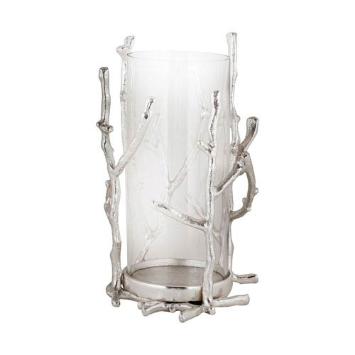 Silver Plate Candle Holder