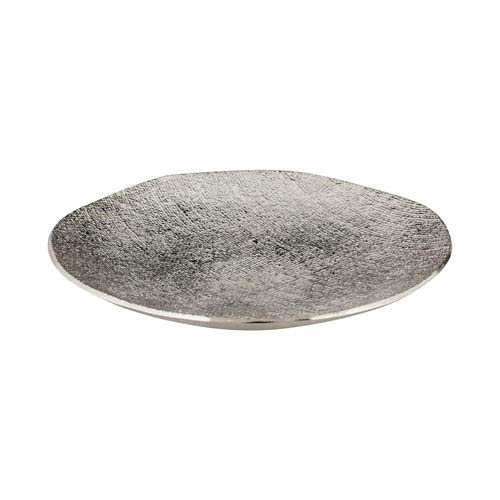 Dimond Home Textured Silver Plate Bowl