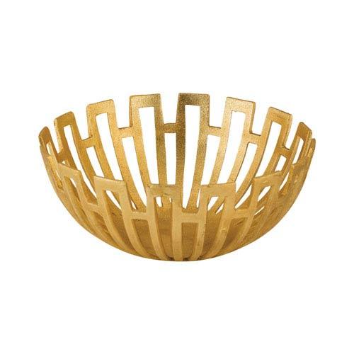 Gold Greek Starburst Bowl