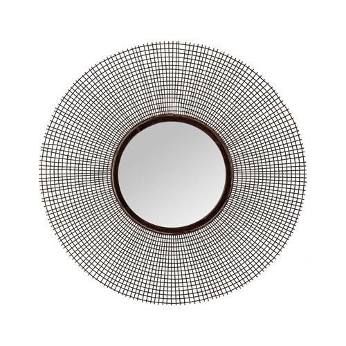 Dimond Home Aged Iron 26 Inch Round Mirror