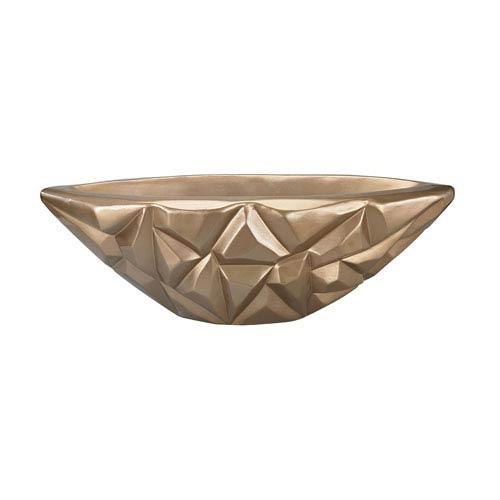Qattara Champagne Gold Bowl