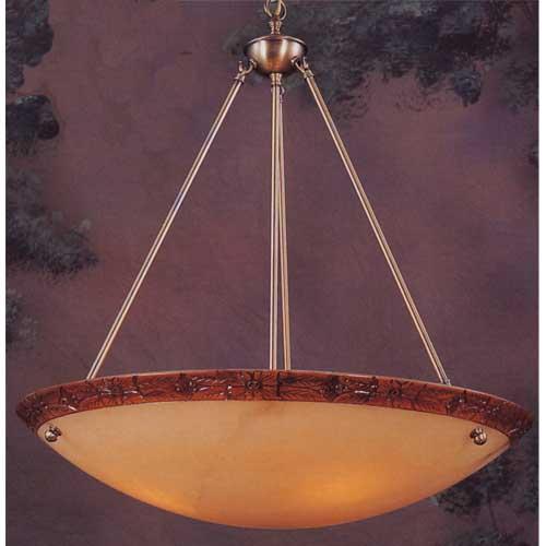 Alabaster bowl lighting bellacor elk lighting honey alabaster large hanging pendant aloadofball Image collections