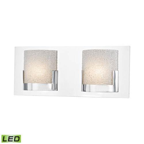 Elk Lighting Ophelia Chrome LED Two-Light Vanity