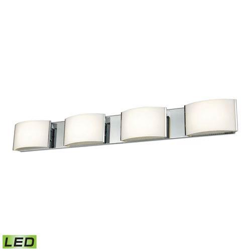 Elk Lighting Pandora LED Chrome Four-Light Vanity