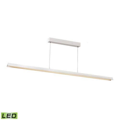 Elk Lighting Tent Matte White LED Pendant