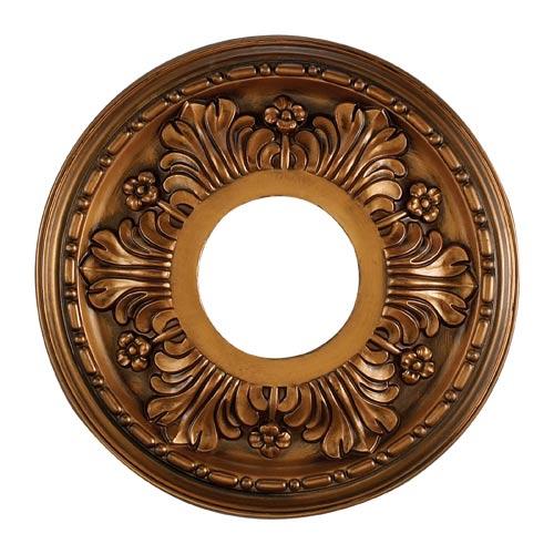 Acanthus Antique Bronze 11-Inch Ceiling Medallion