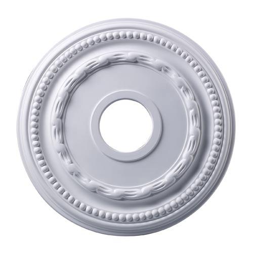 Campione White 16-Inch Ceiling Medallion