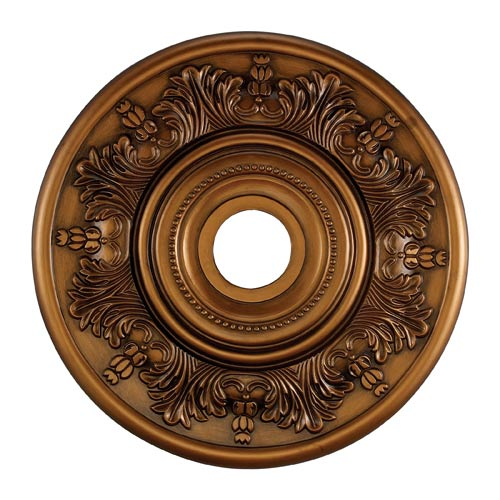 Laureldale Antique Bronze 21-Inch Ceiling Medallion