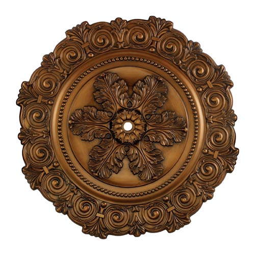 Marietta Antique Bronze 33-Inch Ceiling Medallion