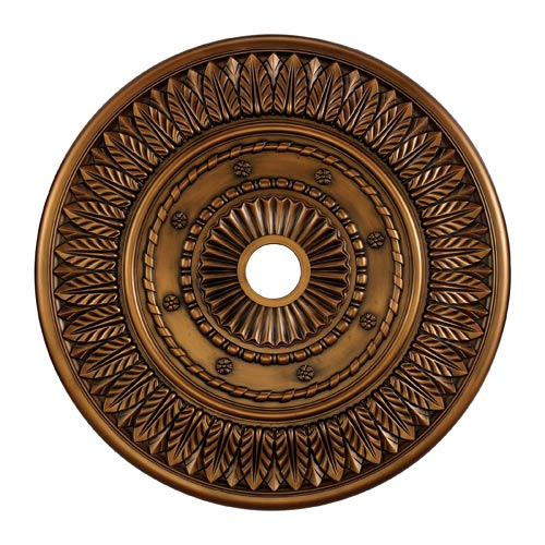 Corinna Antique Bronze 33-Inch Ceiling Medallion