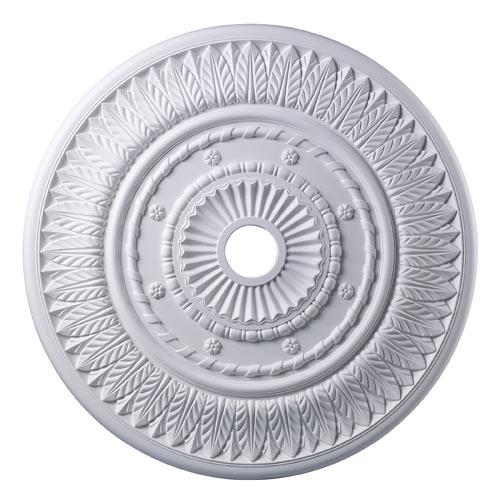 Corinna White 33-Inch Ceiling Medallion