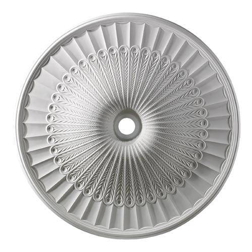 Hillspire White 51-Inch Ceiling Medallion