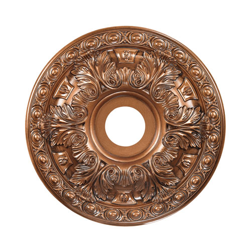 Pennington Antique Bronze 18-Inch Ceiling Medallion