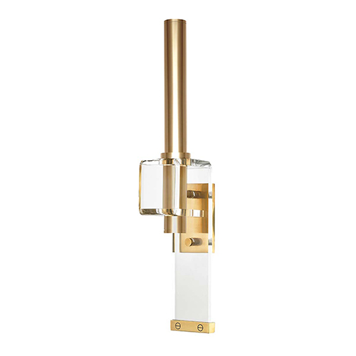 Hillcrest Aged Brass One-Light LED Wall Sconce