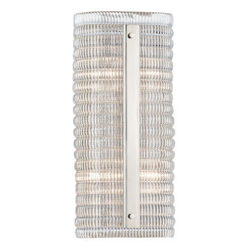 Athens Polished Nickel Four-Light Wall Sconce