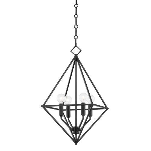 Haines 17-Inch Four-Light Pendant