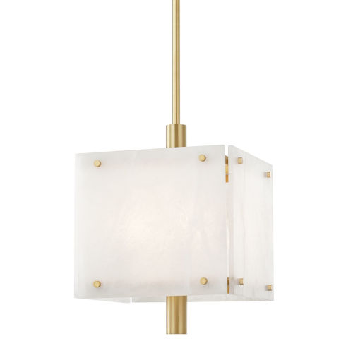 Paladino Aged Brass 16-Inch Four-Light LED Pendant