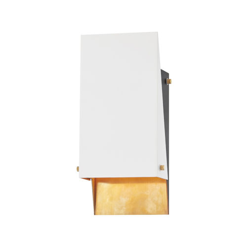 Ratio Aged Brass Six-Inch One-Light Wall Sconce