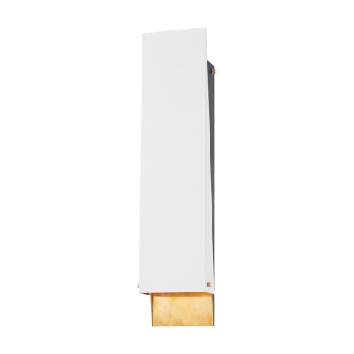 Ratio Aged Brass Six-Inch Two-Light Wall Sconce