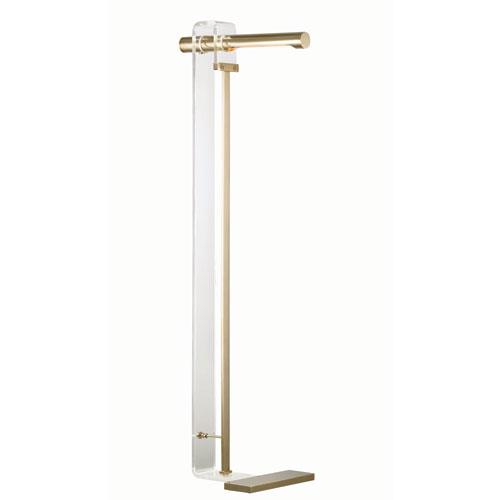 Hillcrest Gold Nine-Inch One-Light LED Floor Lamp