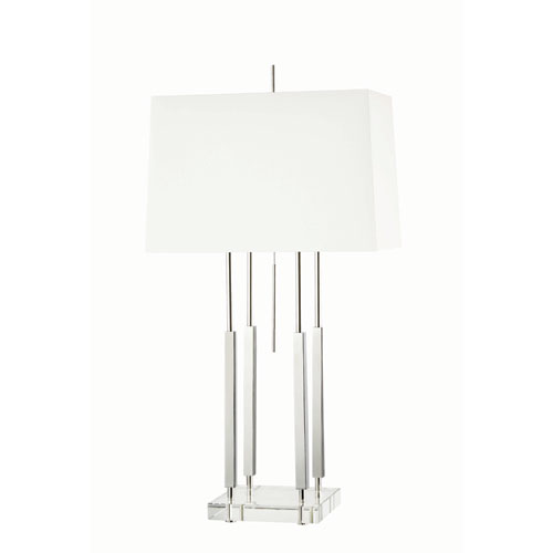 Hudson Valley Rhinebeck Polished Nickel One-Light Table Lamp
