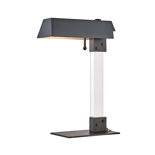 Hunts Point Old Bronze One-Light Table Lamp