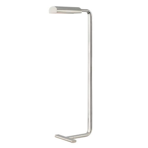Renwick Polished Nickel LED Armchair Floor Lamp