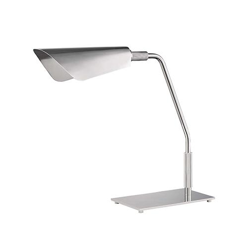 Bowery Polished Nickel One-Light LED Table Lamp