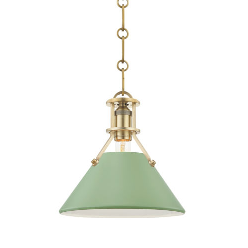 Painted No.2 10-Inch One-Light Pendant