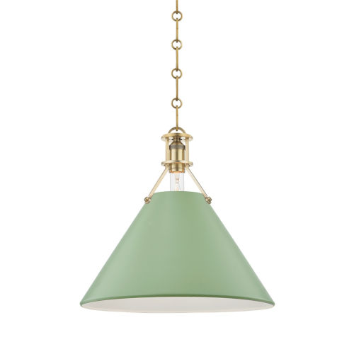 Painted No.2 16-Inch One-Light Pendant
