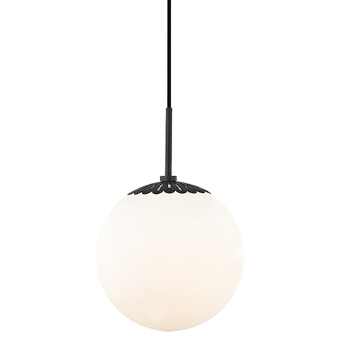 Mitzi by Hudson Valley Lighting Paige Old Bronze 1-Light 10.5-Inch Pendant