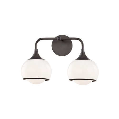 Reese Old Bronze Two-Light Wall Sconce