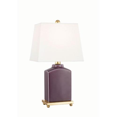Brynn Plum Table Lamp